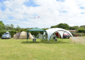 Camping in West Cornwall